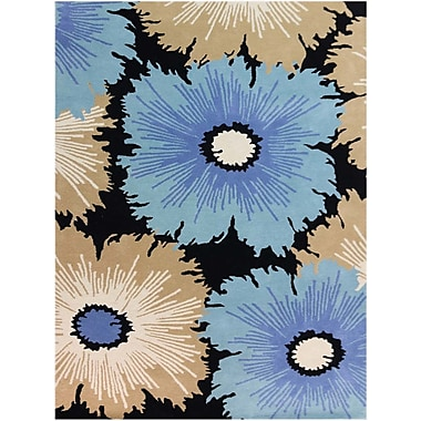 AMER Rugs Bombay Hand-Tufted Multicolored Area Rug; Rectangle 7'6'' x 9'6''