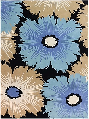 AMER Rugs Bombay Hand-Tufted Multicolored Area Rug; Rectangle 3'6'' x 5'6''