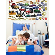 Wallhogs Vehicle Multi-Pak Wall Decal