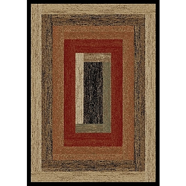Mayberry Rug Hearthside Rustic Panal Multi Area Rug; 2'2'' x 3'3''