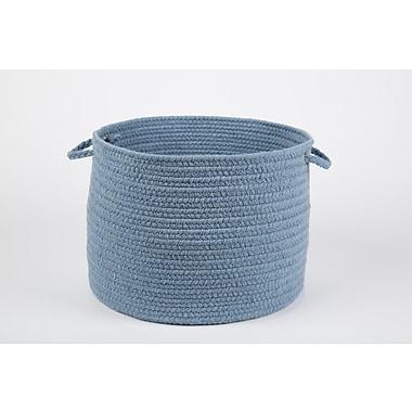 Wildon Home Bren Basket; Blue Bonnet