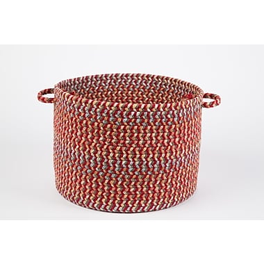 Wildon Home Brenda Basket; Brilliant Red