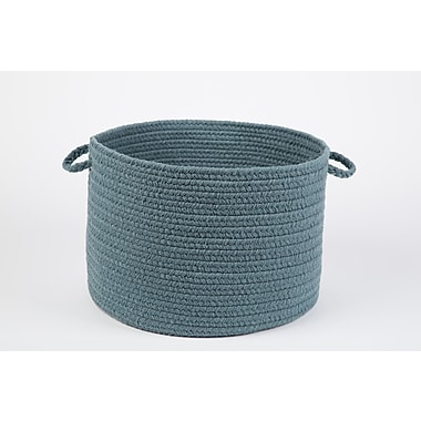 Wildon Home Brenda-Lee Basket; Ocean Blue
