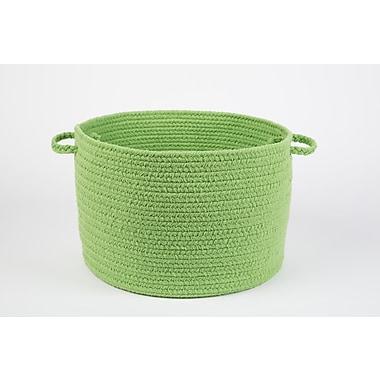 Wildon Home Brenda-Lee Basket; Key Lime