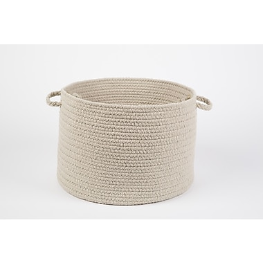 Wildon Home Brenda-Lee Basket; Pumice