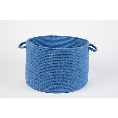 Wildon Home Brenda-Lee Basket; French Blue