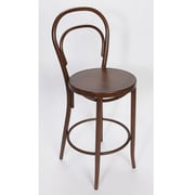 Alston Vienne 30'' Bar Stool; Mocha