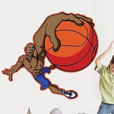 Wallhogs Winn Basketball Dunk Cutout Wall Decal; 42'' H x 48'' W