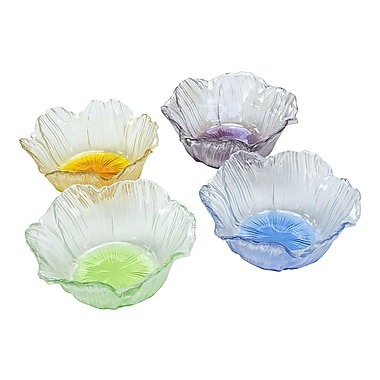 ClassicTouch Trophy Dessert Bowl (Set of 4); Multi