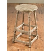 AA Importing 28'' Bar Stool; Weathered