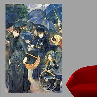 Wallhogs Renoir The Umbrellas (19th) Wall Mural; 60'' H x 38'' W