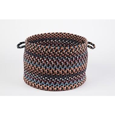Wildon Home Brendis Basket; Black Rock