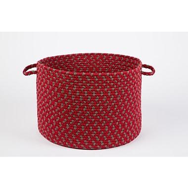 Wildon Home Brenie Basket; Red Brick