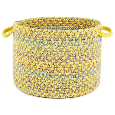 Wildon Home Brennah Basket; Yellow