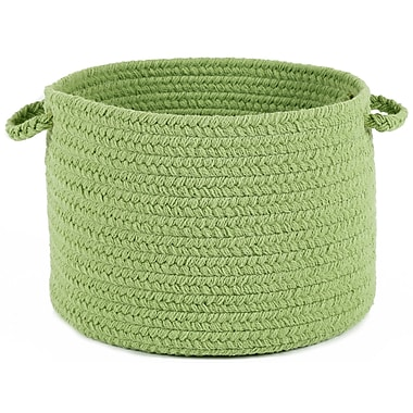 Wildon Home Debs Solid Basket; Lime