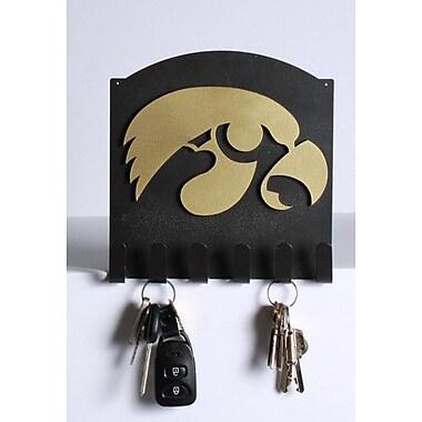HensonMetalWorks Collegiate Classic Key Holder; Iowa