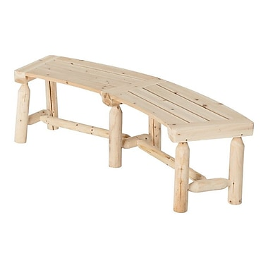 Stonegate Designs Furniture Wood Fire Pit Bench