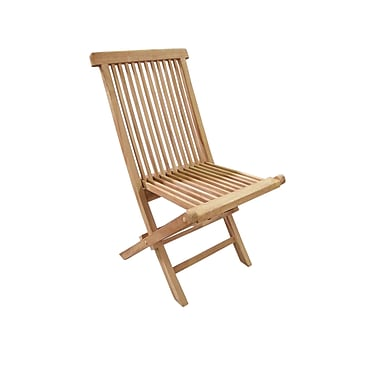 D-Art Collection Crestwood Folding Patio Dining Chair (Set of 2)
