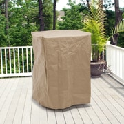 BudgeIndustries All-Seasons Square Smoker Cover - Fits up to 29''; Tan