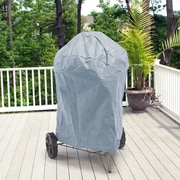 BudgeIndustries All-Seasons Round Smoker Grill Cover; Blue