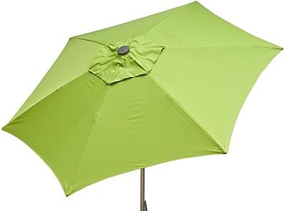 Parasol 8.5' Market Umbrella; Lime