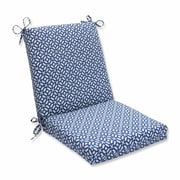 Pillow Perfect In the Frame Outdoor Dining Chair Cushion; Sapphire