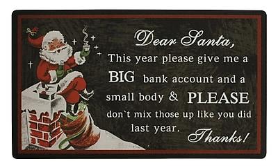 AttractionDesignHome Dear Santa Doormat