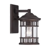 Acclaim Lighting Vista II 1-Light Outdoor Wall Lantern; Architectural Bronze