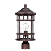 Acclaim Lighting Vista II 1-Light Lantern Head; Architectural Bronze
