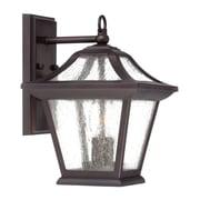 Acclaim Lighting Aiken 2-Light Outdoor Wall Lantern; Architectural Bronze