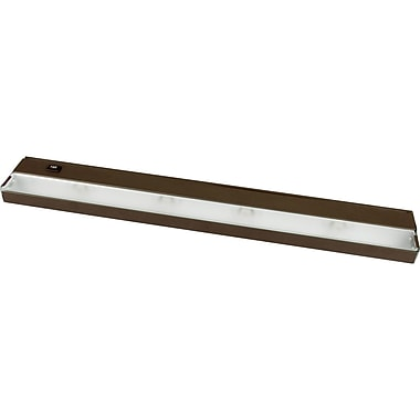 Progress Lighting Hide-a-Lite 24'' Xenon Under Cabinet Bar Light; Bronze