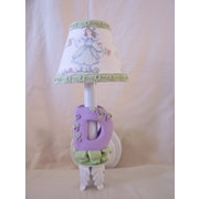Silly Bear Blooming Abc's 1-Light Wall Sconce