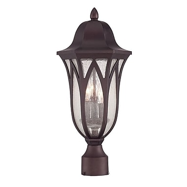 Acclaim Lighting MarbleX Milano 3-Light Lantern Head; Oil Rubbed Bronze