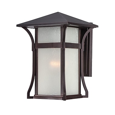 Acclaim Lighting MarbleX - Tahiti 1-Light Outdoor Sconce; Architectural Bronze