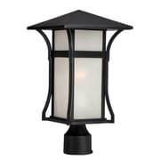 Acclaim Lighting MarbleX Tahiti 1-Light Lantern Head; Matte Black