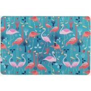 Island Girl Home Flamingo Love Floor Mat
