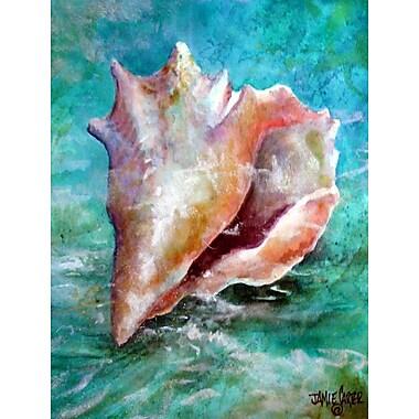 Caroline's Treasures The Jewel of the Sea Shell Vertical Flag