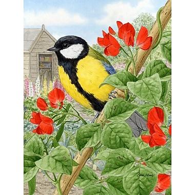 Caroline's Treasures Great Birds Vertical Flag