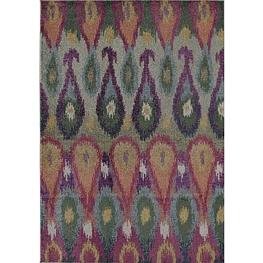 Rugs America Beverly Bhali Red Area Rug; Rectangle 5'3'' x 7'6''
