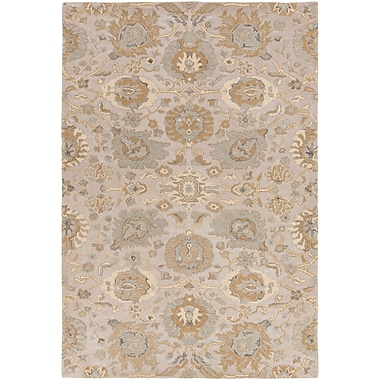 Charlton Home Ivan Hand-Tufted Tan Area Rug; 4' x 6'