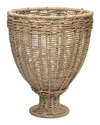 Jamie Young Company Jute Urn Vase