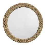 Jamie Young Company Jute Round Braided Mirror