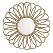 Jamie Young Company Jute Flower Mirror