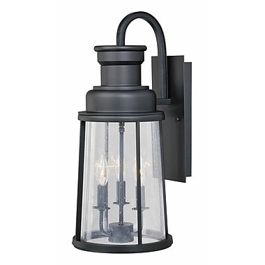 Vaxcel Coventry 3-Light Outdoor Wall Lantern