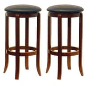 Luxury Home 30.24'' Swivel Bar Stool (Set of 2)