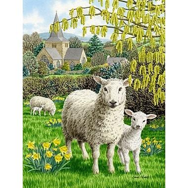 Caroline's Treasures Sheep Vertical Flag