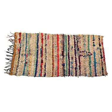 Casablanca Market Vintage Boucherouite Azilal Carpets