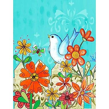 Caroline's Treasures Flower Good Day To Bloom 2-Sided Garden Flag
