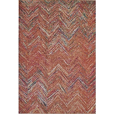 Rugs America Beverly Rust Area Rug; Runner 2'2'' x 7'6''