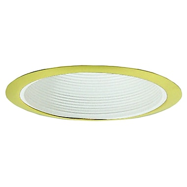 Royal Pacific Baffle 6'' Recessed Trim; Polished Brass